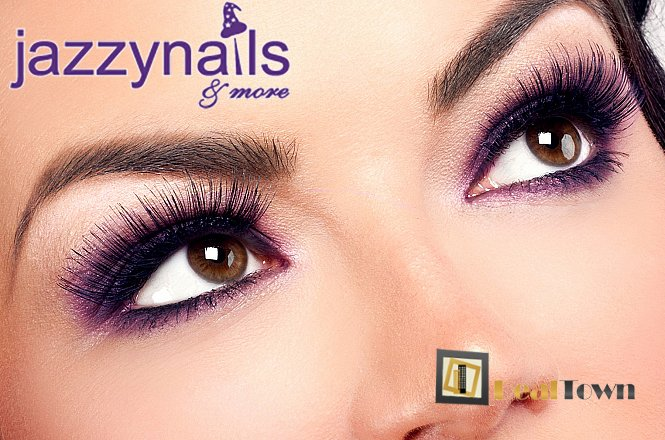 29.90€ για βλεφαρίδες με εμφύτευση φυσικών extensions που τοποθετούνται τρίχα-τρίχα σε όλο το μάτι!! Αποκτήστε βλέμμα που μαγνητίζει και χαρίστε στον εαυτό σας ένα ανανεωμένο look στο χώρο του Jazzy nails & more στον Άγιο Δημήτριο!! εικόνα