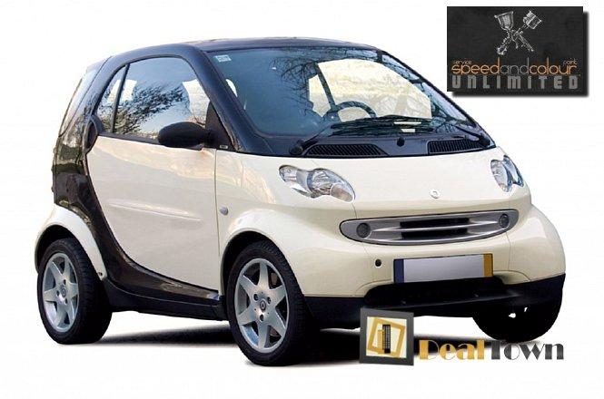 45€ για ένα service αυτοκινήτου Smart που περιλαμβάνει Αλλαγή Λαδιών, Αλλαγή Φίλτρου Λαδιού, Αλλαγή Φίλτρου Αέρα και Εργασία, από το Speed & Colour στην Μεταμόρφωση (πλησίον κόμβου Εθνικής Οδού έξοδος Μεταμόρφωσης). Δυνατότητα δωρεάν παράδοσης και παραλαβής του αυτοκινήτου σας από τον χώρο σας. ΔΩΡΟ με την αγορά της προσφοράς ένα εσωτερικο-εξωτερικό πλύσιμο του Smart σας!! εικόνα