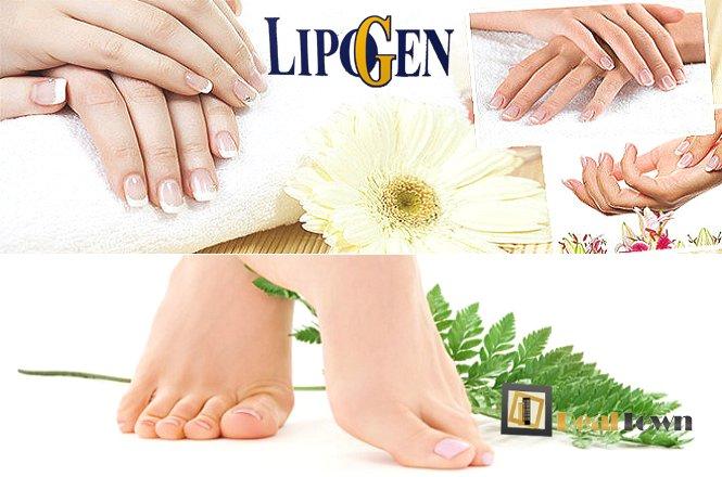15€ για ένα (1) ημιμόνιμο manicure (απλό ή γαλλικό) & ένα (1) pedicure (απλό ή γαλλικό) με επώνυμα επαγγελματικά προϊόντα, από το Hair&Spa Lipogen στην Ν. Σμύρνη. Για όμορφα και περιποιημένα νύχια!!