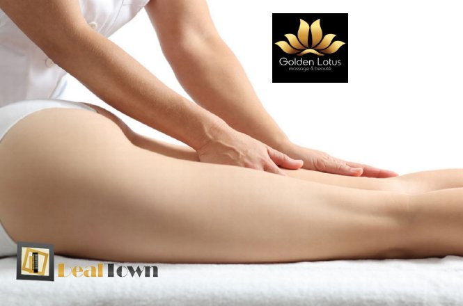 110€ για ένα πακέτο δέκα (10) συνεδριών massage για αποτελεσματική καταπολέμηση της κυτταρίτιδας, στο ολοκαίνουργιο κατάστημα Golden Lotus Massage and Beaute, στο Παγκράτι!! εικόνα