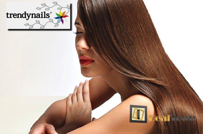 25€ για μία (1) ισιωτική θεραπεία μαλλιών Brazilian, στον υπέροχο & μοντέρνο χώρο του Trendnails στο Σύνταγμα!! Κορυφαία μέθοδος για λεία, ίσια και πλούσια μαλλιά!!