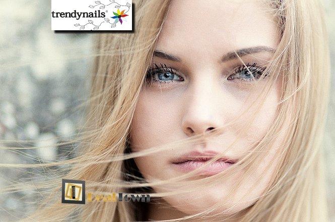 19.90€ για μια (1) βαφή ρίζας μαλλιών, ένα (1) χτένισμα και ένα (1) λούσιμο, στον υπέροχο & μοντέρνο χώρο του Trendnails στο Σύνταγμα! Αφεθείτε στα χέρια των επαγγελματιών και αποκτήστε ένα ανανεωμένο Look!! εικόνα