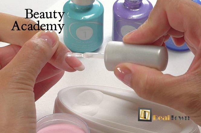 55€ για Επαγγελματικό Σεμινάριο Νυχιών, συνολικής διάρκειας 10 ωρών, με απόκτηση Διπλώματος Εκπαίδευσης. Θεωρητική και πρακτική εκπαίδευση σε ακρυλικό με την μέθοδο DIPPING (DIPPING ACRILYC SYSTEM), από την Σχολή Beauty Academy που βρίσκεται στην Καλλιθέα. Έκπτωση 90%!!