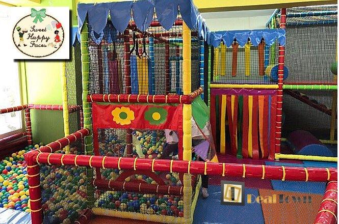 3.90€ από 9.80€ για την είσοδο ενός παιδιού (με χυμό και τοστάκι) ΚΑΙ τον συνοδό (με ρόφημα) στον Παιδότοπο «Sweet Happy Faces» στην Ν.Σμύρνη! Ιδανικός χώρος που ανταποκρίνεται στις ανάγκες μικρών και μεγάλων για διασκέδαση, ψυχαγωγία και παιχνίδι με ασφάλεια. Έκπτωση 60%!! εικόνα