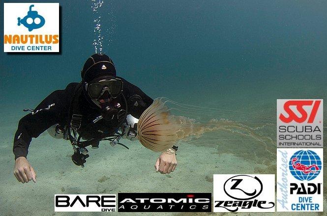 35€ από 60€ για μία (1) κατάδυση γνωριμίας Scuba Diving με αυτόνομη συσκευή κατάδυσης που περιλαμβάνει εκπαίδευση, υπέροχη υποβρύχια φωτογράφηση, υποβρύχια περιήγηση και επιπλέον εκπτώσεις με το Nautilus Dive Center στην Ηλιούπολη! εικόνα