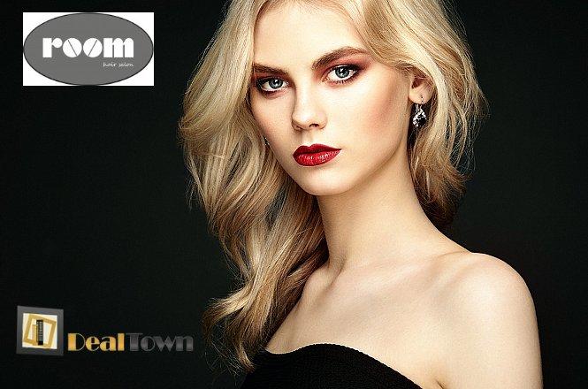 29€ από 59€ για (1) βαφή ρίζας, (1) λούσιμο, (1) θεραπεία διατήρησης χρώματος, (1) κούρεμα, (1) απλό χτένισμα, στον υπέροχο χώρο του Room Hair Salon στο Αιγάλεω (μόλις 100μ από στάση Μετρό Αιγάλεω). Έκπτωση 51%!! εικόνα