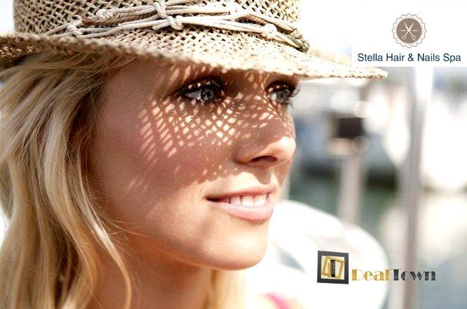 25€ για μοναδικό πακέτο που περιλαμβάνει δυο (2) βαφές ρίζα με λούσιμο, δυο (2) χτενίσματα και δυο (2) σχηματισμούς φρυδιών ή αποτρίχωση άνω χείλους με κλωστή από το Stella Hair & Nails Spa στη Δάφνη (μετρό Δάφνης, έξοδος Παπαναστασίου)!