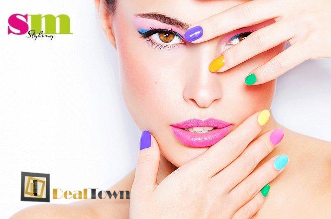 10€ από 20€ για ένα (1) ημιμόνιμο manicure απλό ή γαλλικό, με βερνίκι διάρκειας έως και 3 εβδομάδων, στο μοντέρνο χώρο SM Styling στο Νέο Ηράκλειο. Έκπτωση 50%!!