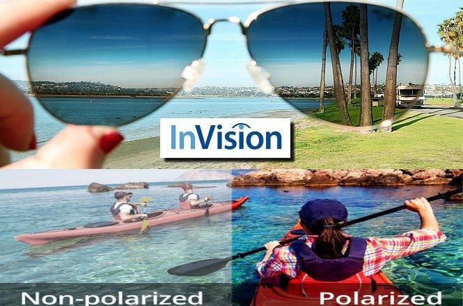 MONO 14.99€ από 60€ για ένα (1) ζευγάρι Γυαλιά Ηλίου Polarized Sunglasses, από το κατάστημα οπτικών ειδών InVision στη Λυκόβρυση. Πάνω από 100 διαφορετικά σχέδια (Γυναικεία - Ανδρικά - Παιδικά) για να επιλέξετε τα καλύτερα Γυαλιά Ηλίου για το Καλοκαίρι 2017!! Έκπτωση 75%!! εικόνα
