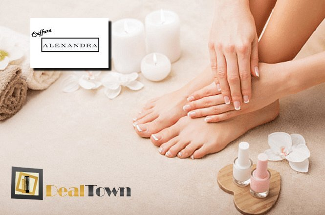 15€ για ένα πακέτο περιποίησης νυχιών που περιλαμβάνει ένα (1) spa manicure & ένα (1) spa pedicure, με μανό China glaze, στο Coiffure Alexandra στα Άνω Πετράλωνα!! εικόνα