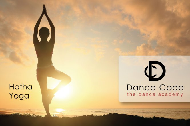 21€ από 60€ για μαθήματα Hatha Yoga (8 ωριαία ομαδικά μαθήματα), για ένα μήνα, στην σχολή χορού Dance Code, στο Χαλάνδρι. Έκπτωση 65%!!! εικόνα