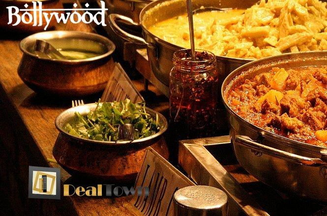 10€ από 18€ για Ατομικό Μενού Ελεύθερης Επιλογής από τον κατάλογο για αυθεντική Ινδική Κουζίνα στο Bollywood στο Γκάζι! Η καρδιά της ινδικής γεύσης χτυπάει στο Bollywood όπου παρασύρει τους πελάτες του στον πλούσιο κόσμο των χρωμάτων, των αρωμάτων και των γεύσεων της Ινδίας! Έκπτωση 44%!! εικόνα