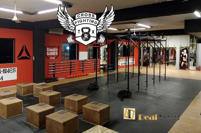 25€ για ένα μήνα απεριόριστα μαθήματα ενός τμήματος της επιλογής σας. Μπορείτε να επιλέξετε ένα από τα τμήματα TRX, Crossfit, Αυτοάμυνας Gregy's Kenpo, Kick Boxing και Πυγμαχίας στο Crossfighting Fitness Club στο Χαϊδάρι! εικόνα