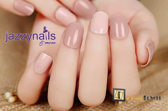 Μόνο 15.90€ για τεχνητά tips ακρυλικό χτιστό με επιλογή διάφανο μπεζ ή ροζ και δώρο 2 glitter και strass, από το Jazzy Nails and more στον Άγιο Δημήτριο. εικόνα