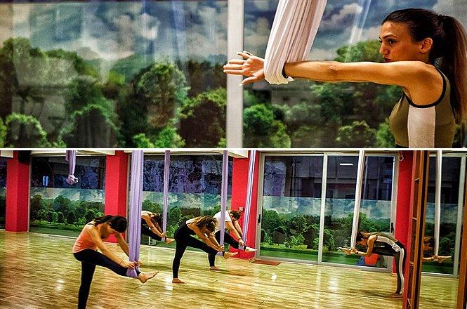 29€ για έναν μήνα συνδρομή Aerial Yoga στο Dance Art στη Δάφνη. Τα μαθήματα θα γίνονται δύο (2) φορές την εβδομάδα!! Έκπτωση 52%!! εικόνα