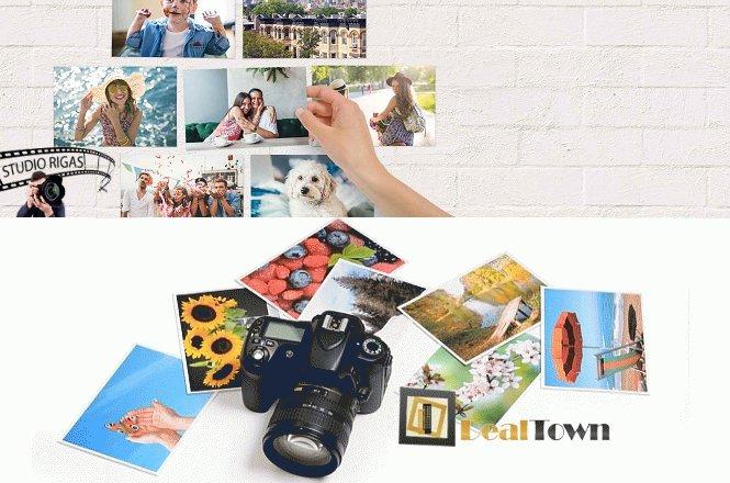 6.90€ για εκτύπωση 50 φωτογραφιών 10x15 ή 12.90€ για εκτύπωση 100 φωτογραφιών 10x15 ή 24.90€ για εκτύπωση 200 φωτογραφιών 10x15, από το φωτογραφείο Studio Rigas στην Πεύκη. ΔΩΡΟ με την αγορά της προσφοράς μεγεθύνσεις 15x20. Χαρείτε τις φωτογραφίες σας σε χαρτί υψηλής ποιότητας!! εικόνα