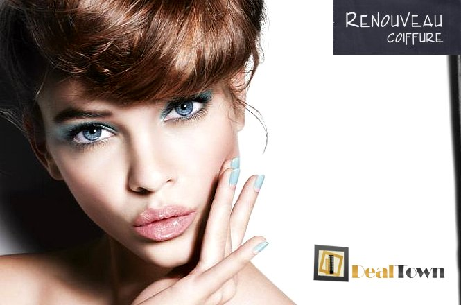 29€ για πακέτο ομορφιάς που περιλαμβάνει Μια (1) Βαφή Μαλλιών, Ένα (1) Χτένισμα (Απλό ή Ίσιο), και Ένα (1) Ημιμόνιμο Manicure (Δώρο η αφαίρεση από προηγούμενη εφαρμοφή) από το Μοντέρνο Κομμωτήριο Renouveau στο Χαλάνδρι. εικόνα