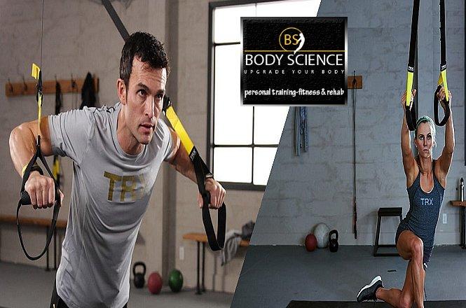 40€ για 4 Personal Training Συνεδρίες οι οποίες περιλαμβάνουν TRX, B-Cube τη νέα κουλτούρα κίνησης και ΔΩΡΟ μία θεραπεία για τη σπονδυλική στήλη στο πρωτοποριακό μηχάνημα Nuga Best!! Στο Personal Studio Body Science στα Μελίσσια!