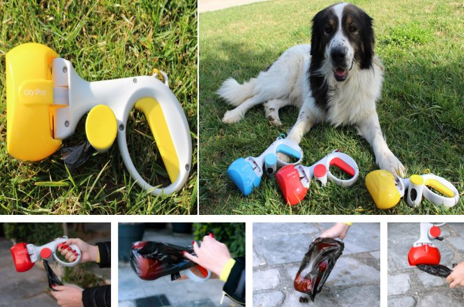 16.90€ για το city dog που είναι κατασκευασμένο από ανθεκτικό πλαστικό, είναι πολύ ελαφρύ κι έχει σχεδιαστεί με χώρο αποθήκευσης σακούλας ακαθαρσιών και είναι εξοπλισμένο με γάντζο ζώνης με πανελλαδική αποστολή ή 19.90€ με δυνατότητα αντικαταβολής. Η λαβή του είναι πολύ άνετη και ταιριάζει σε όλες τις παλάμες.