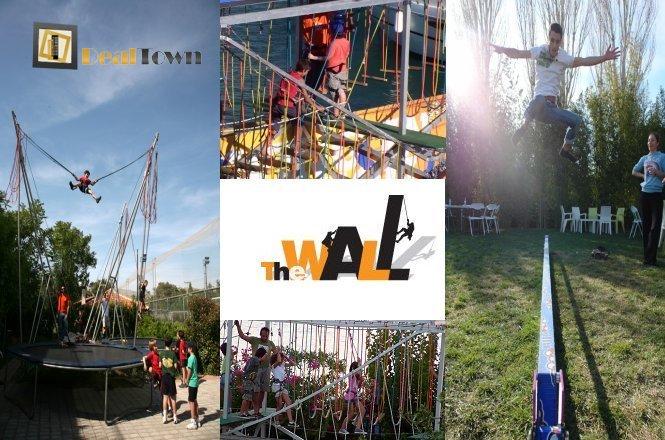One Day Pass για μικρούς και μεγάλους!!16€ από 40€ για ένα One Day Pass με απίστευτες δραστηριότητες στο πάρκο The Wall Sport Climbing Center στην Παλλήνη. Μοναδικές εμπειρίες και έντονος ενθουσιασμός με μια σειρά από διαφορετικές αθλητικές δραστηριότητες όπως αναρρίχηση, bungee τραμπολίνο & αθλητικό τραμπολίνο, rope course και slackline. Έκπτωση 60%!!