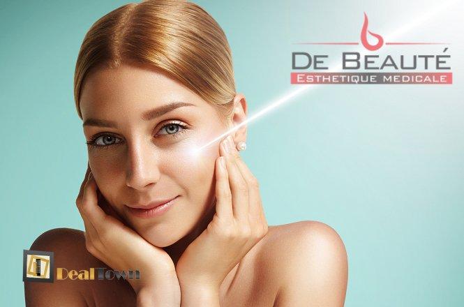12€ για μια (1) θεραπεία υπερήχων προσώπου που πραγματοποιείται σε δύο (2) στάδια καθαρισμός-βαθιά ενυδάτωση και αντιγήρανση προσώπου, συνολικής διάρκειας 60 λεπτών, από το ολοκαίνουριο κέντρο 'De Beaute' στην Αγία Παρασκευή. Άμεσο αποτέλεσμα με προϊόντα υψηλής ποιότητας σε συνδυασμό με άψογη εφαρμογή από εξειδικευμένες αισθητικούς. εικόνα