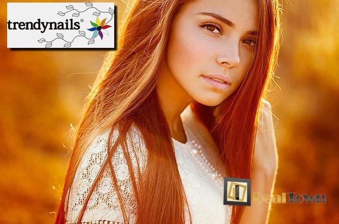9.90€ από 18€ για ένα (1) Κούρεμα & ένα (1) Λούσιμο ή για ένα (1) Χτένισμα και ένα (1) Λούσιμο, στον υπέροχο & μοντέρνο χώρο του Trendnails στο Σύνταγμα! Για να έχετε πάντα όμορφα και περιποιημένα μαλλιά. Έκπτωση 50%!! εικόνα