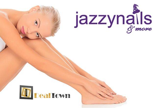 19€ για μια αποτρίχωση με βιολογικό κερί σε σε full bikini, γραμμή κοιλιάς ή μασχάλες ή 29€ για μια αποτρίχωση με βιολογικό κερί σε σε full πόδια, full bikini, γραμμή κοιλιάς και μέση από το σύγχρονο Beauty Studio jazzy nails and more στον Άγιο Δημήτριο!! Λείο και απαλό δέρμα χωρίς κοκκινίλες και ερεθισμού (μόνο για γυναίκες)!! εικόνα