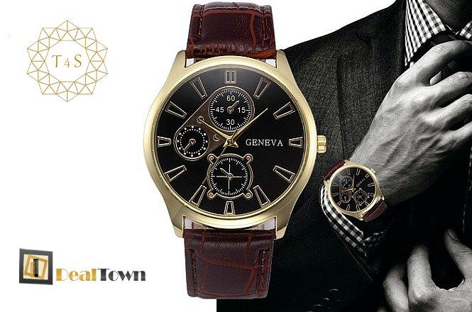 11.30€ για ένα (1) μοναδικής ομορφιάς ανδρικό ρολόι Mask. Αποκλειστικά από το Time4Style στην Αθήνα. Δυνατότητα παραλαβής από το κατάστημα ή και με πανελλαδική αποστολής στον χώρο σας!! εικόνα