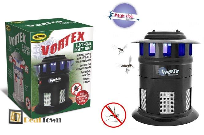 19.90€ για μια Ηλεκτρική Παγίδα Εντόμων με δυνατότητα παραλαβής από το κατάστημα Magic Hole στην Αθήνα ή 22.90€ για πανελλαδική αποστολή στο χώρο σας. Απαλλαγείτε από κουνούπια, μύγες, σφήκες, σκώρους, μέλισσες και άλλα, χωρίς πικίνδυνες και δαπανηρές χημικές ουσίες, φιλικό προς το περιβάλλον!! εικόνα