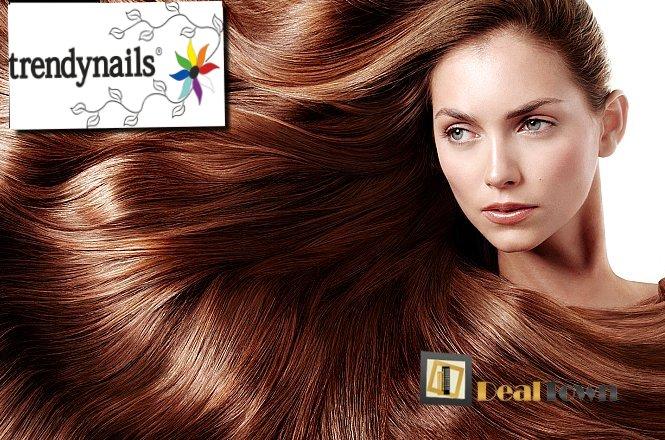 12€ από 28€ για μια Θεραπεία Botox μαλλιών, ένα (1) Λούσιμο και ένα (1) Χτένισμα, στον υπέροχο & μοντέρνο χώρο του Trendnails στο Σύνταγμα! Εκπληκτική θεραπεία αναδόμησης & ανάπλασης των μαλλιών σας!! εικόνα