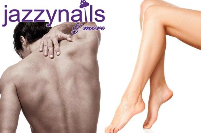 9.90€ για μια αποτρίχωση για γυναίκες με βιολογικό κερί σε Full Πόδια ή 9.90€ για μια αποτρίχωση για άνδρες με βιολογικό κερί σε πλάτη ή στήθος από το σύγχρονο Beauty Studio jazzy nails and more στον Άγιο Δημήτριο!! εικόνα