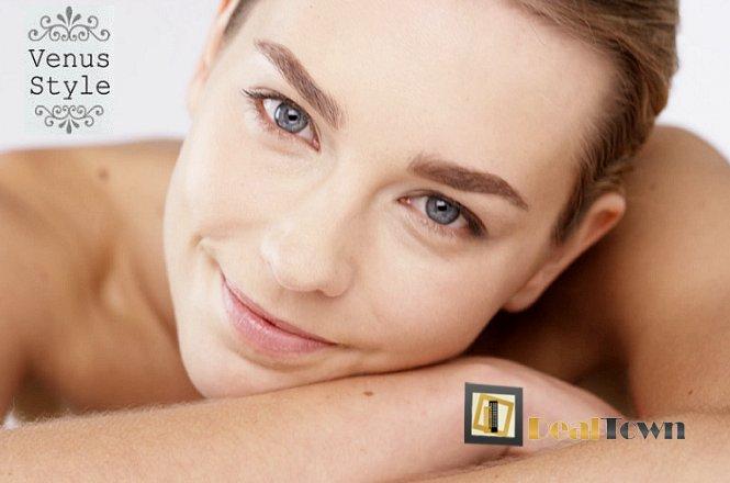 10€ για έναν βαθύ & σχολαστικό καθαρισμό προσώπου & ΔΩΡΟ μία ΦΩΤΟΑΝΑΠΛΑΣΗ προσώπου (αξίας 80€) για άμεση λάμψη, ενυδάτωση και σύσφιξη σε κάθε τύπο δέρματος!! Μοναδική προσφορά από το VENUS STYLE!!