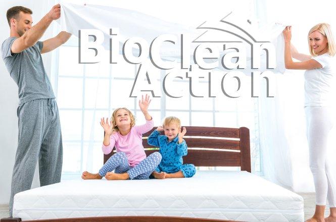12,90€ για οικολογικό βιοκαθαρισμό μονού στρώματος ή 22,90€ για ένα διπλό στρώμα με ειδικό επαγγελματικό μηχανήμα extraction extraction ισχυρής αναρρόφησης. Με καθαριστικό Μicro-splitting (μικροδιάσπαση λεκέδων), προϊόντα οικολογικά και βιοδιασπώμενα από την Biocleanaction.gr!!Απολαύστε τον ύπνο σας σε ένα υγιεινό και πεντακάθαρο στρώμα χωρίς αλλεργίες και μικρόβια.