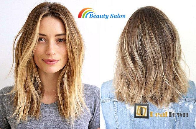 25€ για την εφαρμογή της τεχνικής Ombre Hair ή Βallegiaz, χτένισμα ή ένα κούρεμα, λούσιμο και θεραπεία με χαβιάρι ή botox μαλλιών, από το Hair & Nails στο Χαλάνδρι. εικόνα