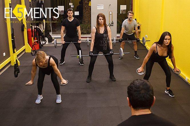 29€ από 70€ για 9 Συνεδρίες στα προγράμματα LesMills (Bodypump, Cxworx, Body Balance) στο 5Elements Studio στο Χολαργό!! εικόνα