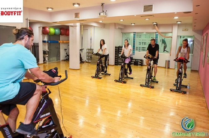 21€ από 35€ για 5 συνεδρίες Power Cycling από το Bodyfit Gym στη Δάφνη! Το γυμναστήριο που είναι 42 χρόνια δίπλα στον ασκούμενο! Έκπτωση 40%!!
