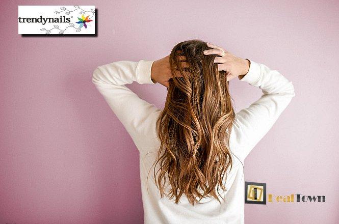 10€ για Θεραπεία Botox μαλλιών, ένα Λούσιμο και ένα Χτένισμα, στον υπέροχο & μοντέρνο χώρο του Trendnails στο Σύνταγμα! Εκπληκτική θεραπεία αναδόμησης & ανάπλασης των μαλλιών σας!! εικόνα