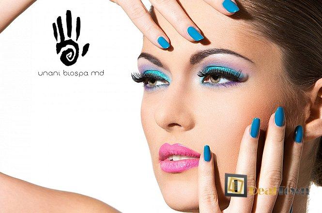 8€ για spa manicure με ημιμόνιμη βαφή (απλό ή γαλλικό) & ένα (1) καθαρισμό φρυδιών και ένα (1) skin scanner προσωπου ή 10€ για (1) spa manicure ή pedicure με ημιμόνιμη βαφή (απλό ή γαλλικό) & μια (1) αποτρίχωση άνω χείλους & ένα (1) καθαρισμό φρυδιών & ένα (1) skin scanner προσώπου στο νέο χώρο του