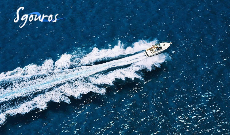 90€ για την απόκτηση διπλώματος ταχύπλοου σκάφους, στη Σχολή Sgouros Training Boat. Δύο 4ωρα θεωρητικά και τρία ωριαία πρακτικά μαθήματα και δαμάστε τα κύματα!!