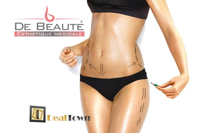 29.90€ για νέα τεχνολογία απίσχνασης του σώματος σε κοιλιά, γλουτούς, μηρούς και μπράτσα με τέσσερις θεραπείες lipolaser και τέσσερις θεραπείες λεμφικής αποσυμφόρησης, από το 'De Beaute' στην Αγία Παρασκευή.