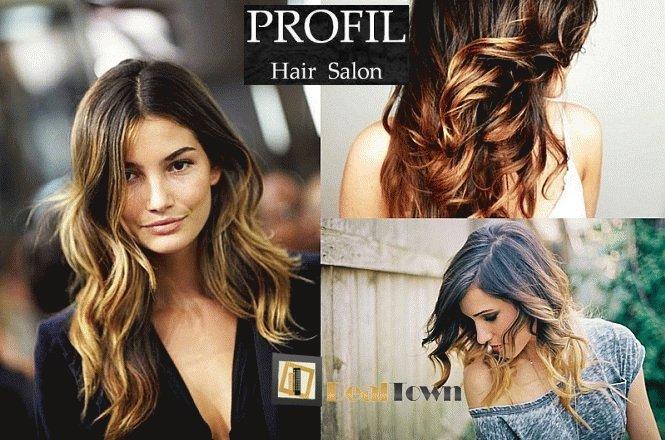 20€ για πακέτο ανανέωσης μαλλιών που περιλαμβάνει μια (1) εφαρμογής τεχνικής ombre, μια (1) μάσκα, ένα (1) χτένισμα και ένα (1) λούσιμο στο φιλόξενο PROFIL HAIR STUDIO στην Κυψέλη!! Έκπτωση 56%!! εικόνα
