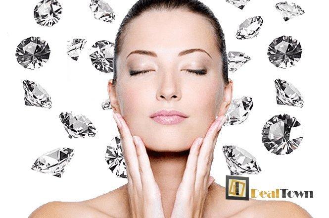 24€ από 80€ από Δερμοαπόξεση με Διαμάντι για λείο, λαμπερό και καθαρό δέρμα με την πιό σύγχρονη θεραπεία καθαρισμού του δέρματος. εικόνα