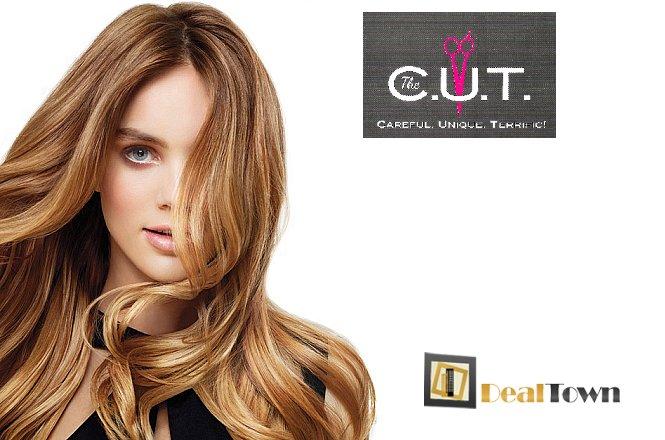 55€ από 110€ για πακέτο φροντίδας & περιποίησης μαλλιών που περιλαμβάνει Ανταύγειες σε όλο το κεφάλι & Ρεφλέ & Κούρεμα & Χτένισμα (ίσιωμα ή φλου) & Θεραπεία Ενυδάτωσης & Λούσιμο στο κομμωτήριο The CUT by Apostolis Ntounias στο Παλαιό Φάληρο!! Αφεθείτε στα χέρια των ειδικών του κομμωτηρίου C.U.T, ακολουθήστε τις συμβουλές μας και δείτε τα μαλλιά σας σε άλλη διάσταση!! εικόνα