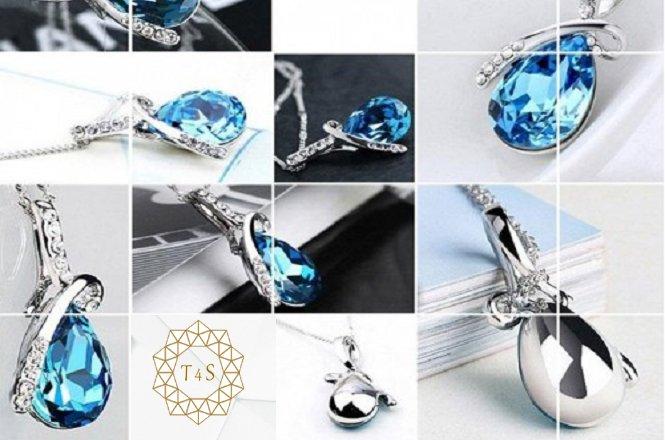 Από 19.2€ για υπέροχο κρεμαστό κόσμημα Silver Drop από Swarovski Elements. Αποκλειστικά από το Time4Style στην Αθήνα. Δυνατότητα παραλαβής από το κατάστημα ή και με πανελλαδική αποστολής στον χώρο σας!! εικόνα
