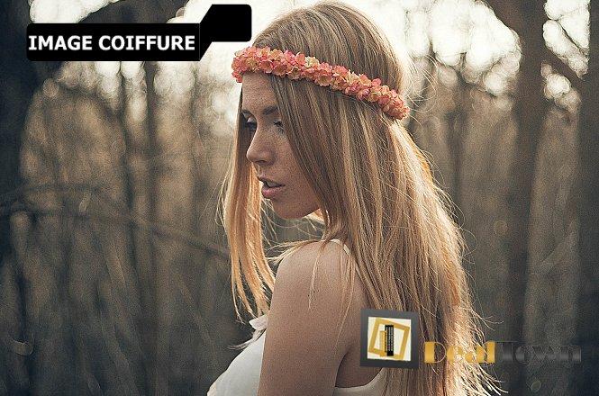 15€ Βαφή μαλλιών, Φορμάρισμα Μαλλιών & Μάσκα Αναδόμησης/Ενυδάτωσης Μαλλιών στο Ιmage Coiffure στο Νέο Κόσμο (στάση μετρό Συγγρού-Φίξ). εικόνα