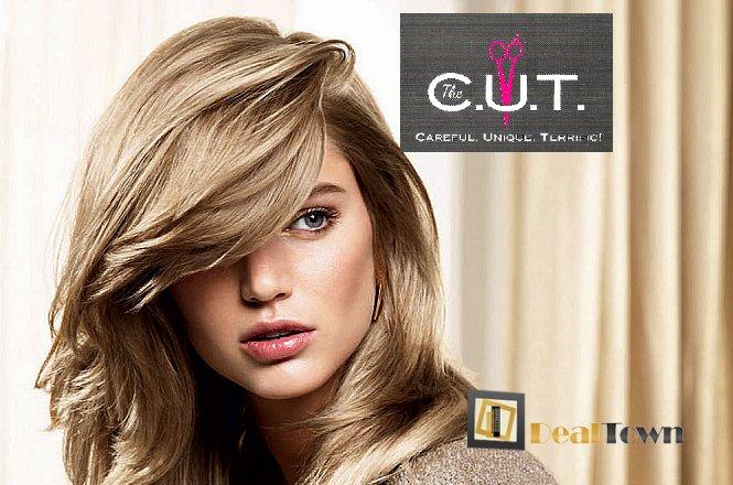 37€ από 75€ για περιποίηση μαλλιών που περιλαμβάνει Βαφή Ρίζας Άκρη & ένα Κούρεμα & ένα Χτένισμα ΙΝ/OUT & μια Θεραπεία Ενυδάτωσης & ένα Λούσιμο στο μοντέρνο κομμωτήριο The CUT by Apostolis Ntounias στο Παλαιό Φάληρο!! εικόνα