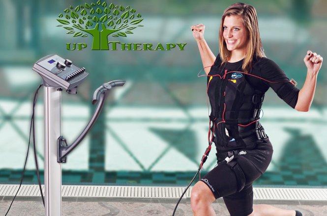 35.90€ για δυο συνεδρίες Miha Bodytec στο UpTherapy στη Νέα Χαλκηδόνα (πλησίον Σκλαβενίτη)! Το Miha-Bodytec είναι το απόλυτο σύστημα εξάσκησης, η πλέον καινοτόμος εξέλιξη της άσκησης με στόχο την ηλεκτροδιέγερση των μυών. εικόνα