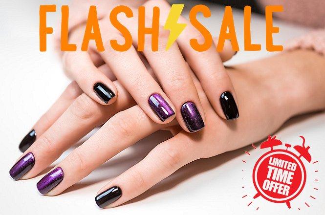 ΜΟΝΑΔΙΚΗ ΤΙΜΗ ΓΙΑ ΛΙΓΕΣ ΗΜΕΡEΣ!!ΜΟΝΟ 8€ για ολοκληρωμένο ημιμόνιμο manicure με χρώμα ή γαλλικό, από το