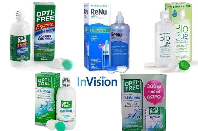 Από 5.70€ υγρό καθαρισμού φακών επαφής 360ml με παραλαβή από το κατάστημα οπτικών InVision στη Λυκόβρυση. Και με δυνατότητα πανελλαδικής αποστολής στον χώρο σας!! εικόνα