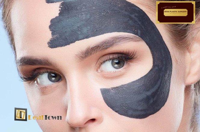 9.90€ καθαρισμός προσώπου με υπερήχους & θεραπεία απολέπισης-καθαρισμού με μάσκα Black mask peel off , από το